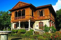 Places that I'll Never Forget in Silay City : Balay Negrense (House in Negros Occidental, Philippines) Wow! We had so much fun and spent hours cleaning that place! What a great adventure! Filipino Architecture, Philippine Architecture, Architecture Design, Philippines Culture, Manila Philippines, Philippines Travel, Filipino House, President Of The Philippines, Philippine Houses