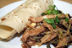 Slow Cooker Moo Shu Wraps | Magic Skillet , http://newestrecipes.com slow cooker recipes -  #crock pot recipes