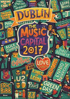 Dublin - Music Capital 2017 on Behance