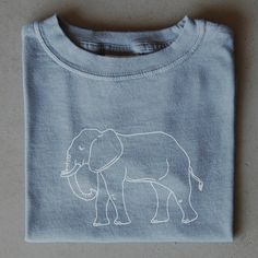 Elephant Children's Tee. Roll tide!