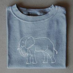 Elephant Children's Tee. Roll tide!
