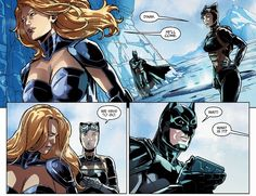 Dinah Lance/Black Canary losing Oliver Queen/Green Arrow in Injustice #30