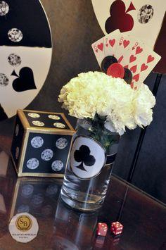 78 Best Card Party Ideas Images Feste A Tema Casino Centrotavola