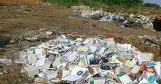 RS Notícias: Livros didáticos são encontrados ainda embalados e...