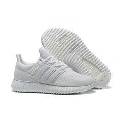 new concept 5c9f7 861c9 Adidas Boty Yeezy Ultra Boost Všechno Bílý - Adidas Obchod Nike Shox, Nike  Roshe,