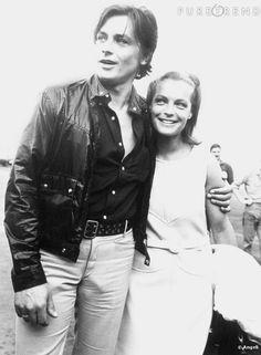 Alain Delon et Romy Schneider Mrs Susan Ansley Klok here in New Zealand