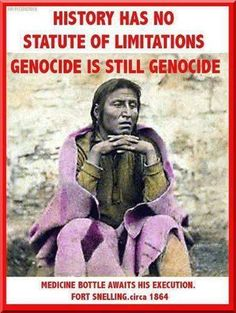 In any country, to any race, in any language~ Genocide is   still Genocide~