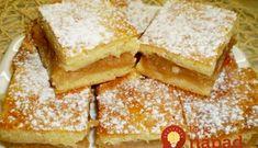 Omlós almáspite - ahogy nagymamáink is készítették Croatian Recipes, Hungarian Recipes, My Recipes, Cake Recipes, Hungarian Cake, Cake Cookies, Food And Drink, Sweets, Bread