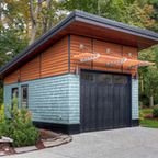 Modern Detached Garage - Modern - Garage And Shed - st louis - by Mosby Building Arts