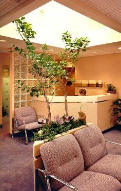 Medical office - reception area....