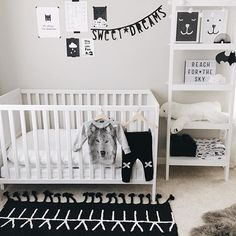 It's been so cold in Seattle these past few weeks. ❄️ Eli is staying warm and cozy in his Wolf Sweater & Kriss Kross Knitted Pants by Lucky No.7 today! ✖️Also shown from our shop...Letter Banner, Lightbox, and Mini Cloud Light by A Little Lovely Company • Nursery Prints by Tellkiddo • Swaddle Blankets by Modern Burlap • Bereber Machine Washable Rug by Lorena Canals  Click link in bio to shop! : @mintedmethodshop