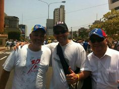 Junto  a Luis Preiero  y Figelino Romay compañeros de lucha