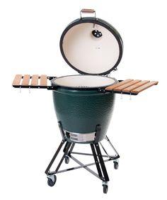Big Green Egg : méér dan een barbecue. Een heus openlucht-restaurant voor roken, grillen, bakken en koken.