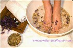 Romã ❧ Hortelã: Escalda-pés de gengibre e cravo estimula a circula...                                                                                                                                                                                 Mais
