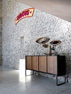 Oblique Sideboard, Contemporary Entry Design at Cassoni.com