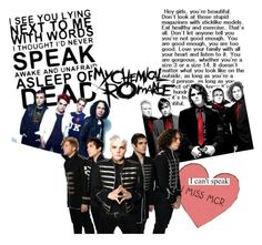 """This is : My Chemical Romance"" by daiserz ❤ liked on Polyvore featuring art"