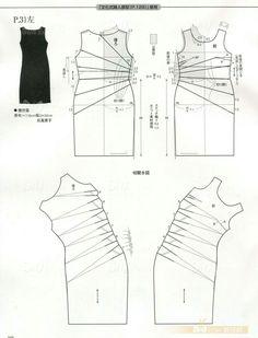 ワンピース型紙