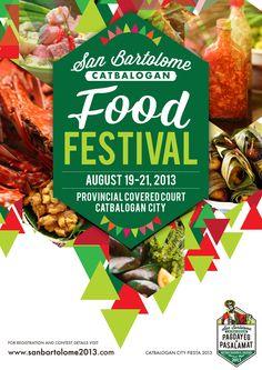 International Food Festival Poster