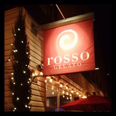 Rosso Gelato Old River - Rocky River, Ohio- my all time favorite gelato in the US!