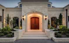 mediterranean homes for sale in atlanta ga Classic House Exterior, Classic House Design, Dream House Exterior, Dream Home Design, Modern House Design, Cottage Exterior, House Outside Design, House Front Design, Mediterranean Style Homes