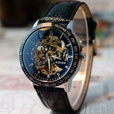 $12.76 (Buy here: https://alitems.com/g/1e8d114494ebda23ff8b16525dc3e8/?i=5&ulp=https%3A%2F%2Fwww.aliexpress.com%2Fitem%2FEssential-New-Men-Hollow-Skeleton-Automatic-Mechanical-Stainless-Steel-Wristwatch-Bangle-Bracelet-Dress-Watch%2F32389729510.html ) Essential 2016 New Men Hollow Skeleton Automatic Mechanical Stainless Steel Wristwatch Bangle Bracelet Dress Watch for just $12.76
