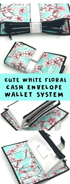 This Dave-Ramsey style cash envelope wallet is SO cute and adorable! ♥️ #ad #daveramsey #wallet #money #giftidea