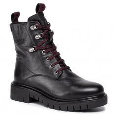 Botine GIOSEPPO - Vechta 56552 Black Hiking Boots, Shoes, Fashion, Moda, Zapatos, Shoes Outlet, Fashion Styles, Shoe, Footwear