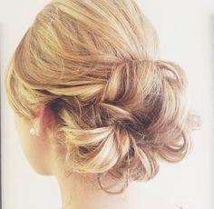 Beautiful Lauren's hair I did in salon