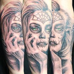 Back of my forearm.