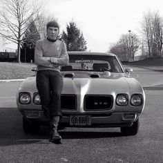"Spock With His Out If This world Ride. A 1970 GTO ""Judge""."