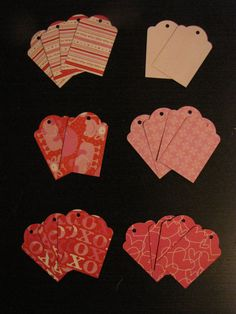 Set of 20/Twenty Handmade Valentine's by RepurposedLemonade