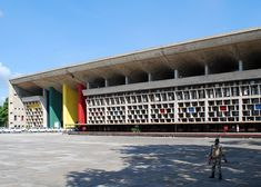 UNESCO adds 17 Le Corbusier projects to World Heritage List, including High Court, Complexe du Capitole, Chandigarh, India, 1952. Photograph by Sanyam Bahga