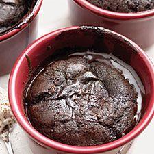 Self-Saucing Chocolate Cake – easy to make; fabulous to eat.