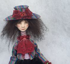 Art doll ,ooak doll ,human figure doll ,clay doll ,paper clay doll ,collection doll ,art clay doll by JuraD on Etsy