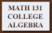 Math 131 Worksheets - great website with links for using the ti84.