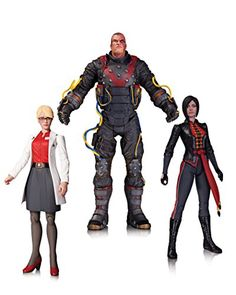 DC Collectibles Batman: Arkham Origins: The Electrocutioner Dr. Harleen Quinzel and Lady Shiva Action Figure (Pack of 3) *** Want to know more, visit http://www.amazon.com/gp/product/B00X2VJ4C4/?tag=superheroes025-20&pab=260716235657