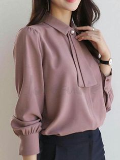53 Super Ideas For Style Femme Classe Robe Business Professional Outfits, Business Casual Attire, Business Outfits, Business Fashion, Work Fashion, Modest Fashion, Fashion Outfits, Woman Outfits, Stylish Dresses For Girls