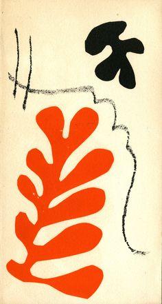 Henri Matisse: lithographies rares, Paris: Berggruen, 1954. Cover by Matisse.