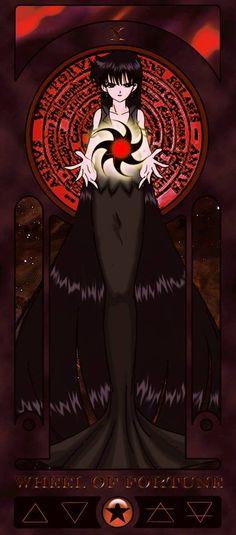 Mistress 9 tarot card wheel of fortune