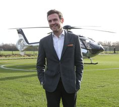@manutd attacker Juan Mata was all smiles back in January 2014 when he made a permanent switch to Old Trafford.