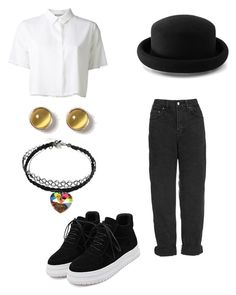 """""""Untitled #215"""" by ninaellie on Polyvore featuring Dorothy Perkins, T By Alexander Wang, Topshop, Warehouse and WithChic"""