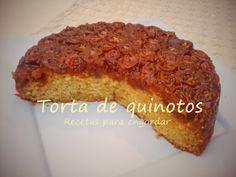 Recetas para engordar...: Torta invertida de quinotos