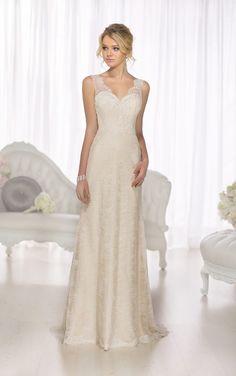 Classic Columns: 10 Beautiful Sheath Wedding Dresses