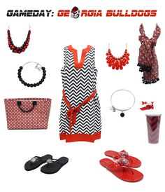 Georgia Bulldogs Game Day Outfit and Accessories