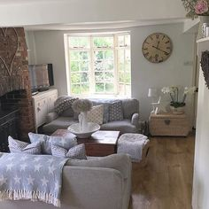 Cosy country living room.