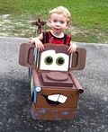Tow Mater the Tow Truck Homemade Costume - 2013 Halloween Costume Contest