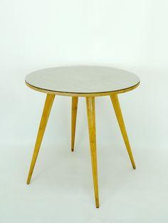 mesa comedor estilo escandinavo, sobre de formica, años 50 - Decoración y Objetos Vintage   VOM Gallery