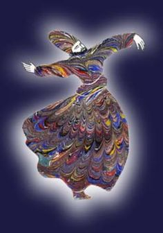 Ebru Islamic World, Islamic Art, Islamic Calligraphy, Calligraphy Art, Water Paper, Ebru Art, Whirling Dervish, Turkish Art, Marble Art