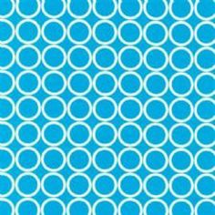 Metro Living Circles in Turquoise  Collection: Metro Living   Designer: House   Manufacturer: Robert Kaufman | 1/2 yd, washed, Fabric.com, 2011 - scraps remain