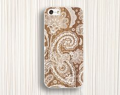personalized iphone 5 cases  white fern printing by Emmajins, $9.99